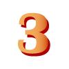 3, three, три